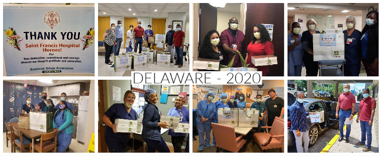 Supporting healthcare workers in Delaware