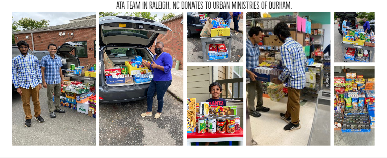 NC team donates to Urban Ministries of Durham